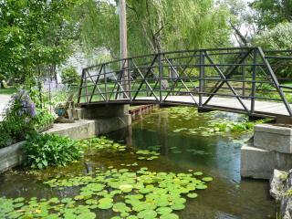 Keego Harbor Foot Bridge